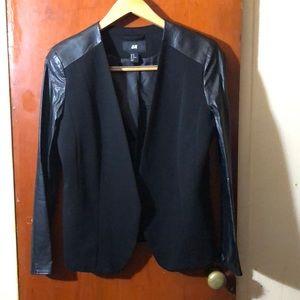 HM size 10 mixed texture blazer